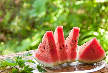 美容と健康:夏にはスイカ!